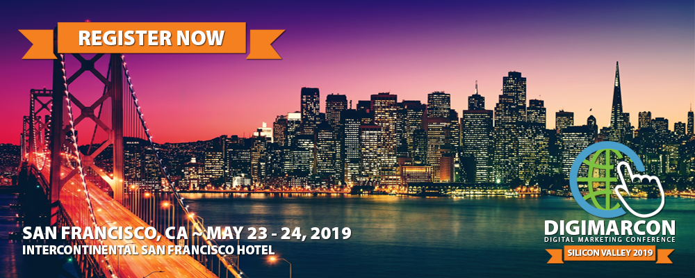 DigiMarCon Silicon Valley 2018 Register